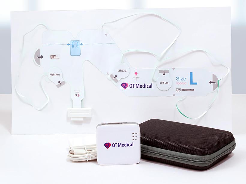 宇心生醫化繁為簡 打造最輕巧的醫療級家用12導程心電圖機