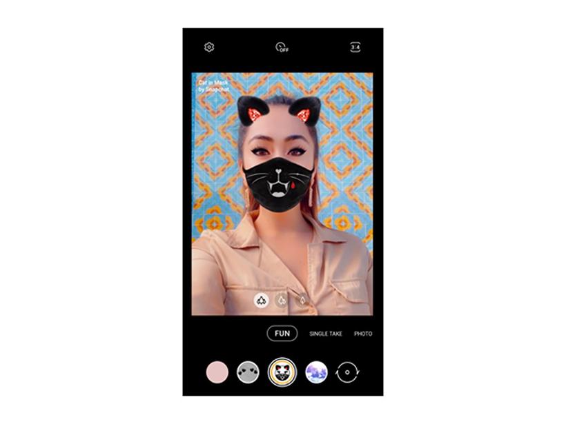 三星趣味拍照模式提供全新AR變裝濾鏡 Galaxy M系列手機亦支援