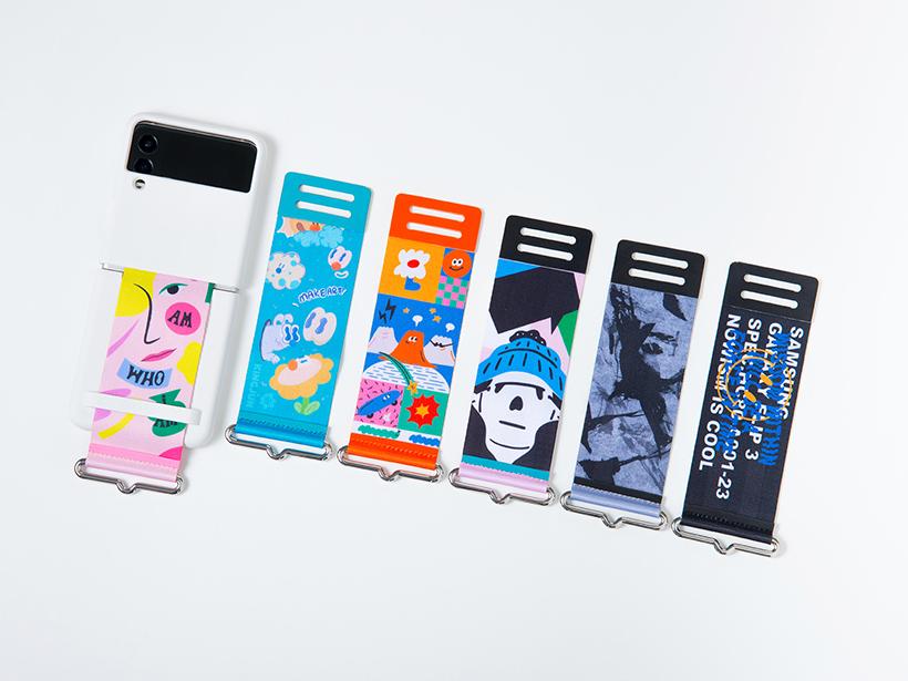 三星以Z Flip3設計為靈感 推出聯名配件與Buds耳機殼